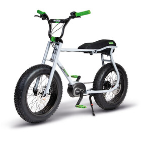 "Ruff Cycles Lil'Buddy 20"" Bosch Active Line 500Wh, silver grey"